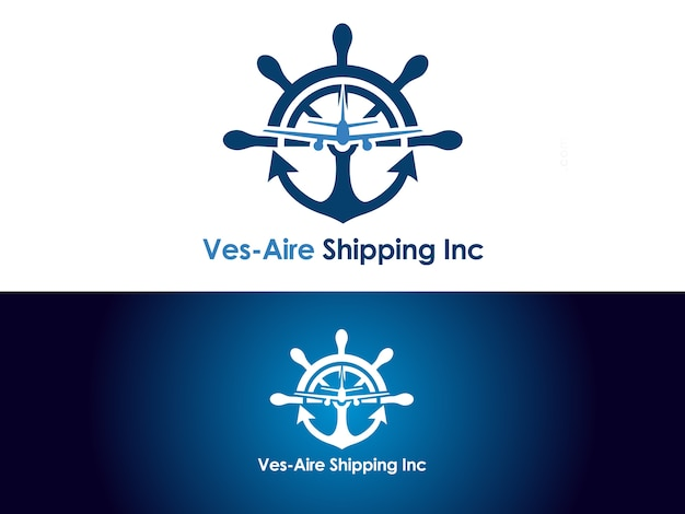 Shipping & cargo company logo design