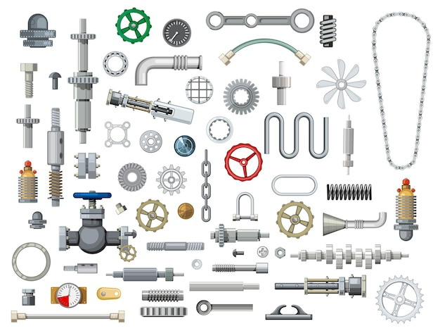 Ships and boats mechanisms spare parts