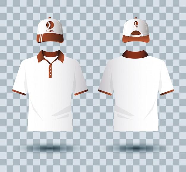 Рубашки одежда и набор брендов