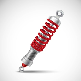Shock absorber realistic
