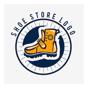 Shoe icon  . sport shoe logo brand mark . footwear symbol. boot sneaker sign.