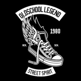 Shoe legend