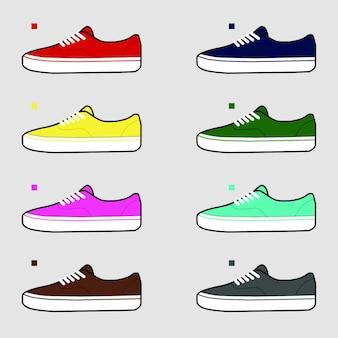 靴のベクトル