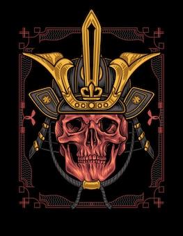 Shogun skull