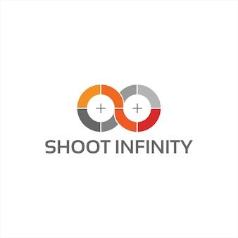 Shoot infinity - logo template
