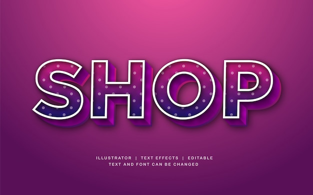 Shop 3d text effect in pink color