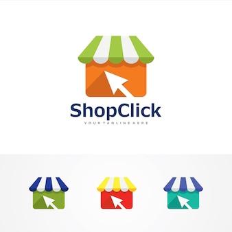 Shop click logo