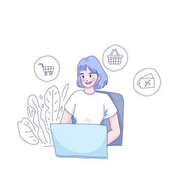 Делать покупки из дома или продавать из дома