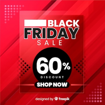 Shop now gradient black friday banner