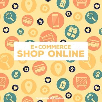 Shop online symbols