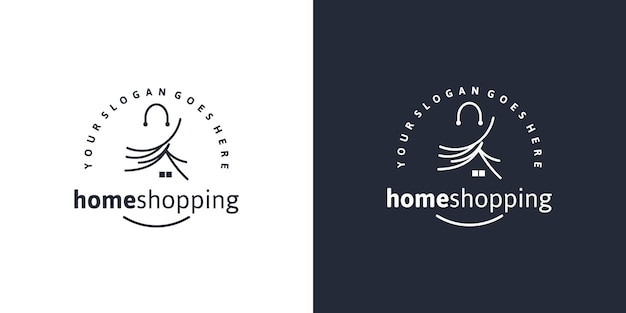 Shop, shopping, market, creative logo for business
