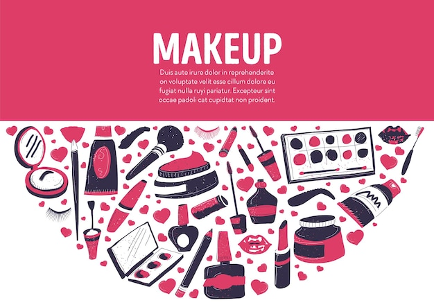 Shop or store selling cosmetic production for women