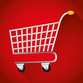 아이콘 쇼핑 및 전자 상거래 그래픽 디자인