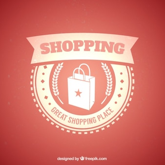 Shopping badge