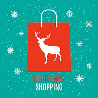 Shopping bag design background. vector illustration eps10