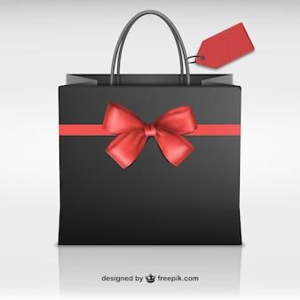 Shopping bag for Black Friday
