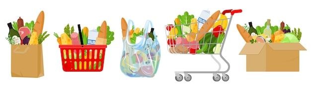 Сумки и корзины для покупок