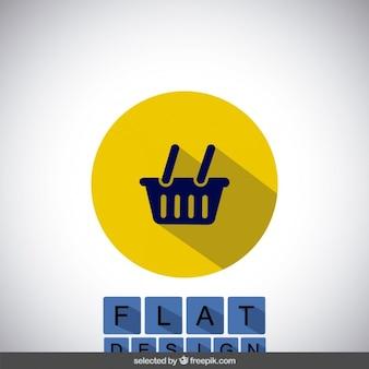 Магазины значок корзины