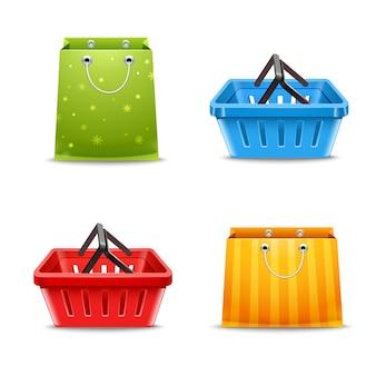 Корзины и сумки для покупок