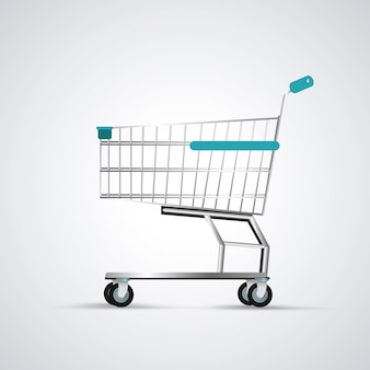 Shopping cart. commerce and store icon