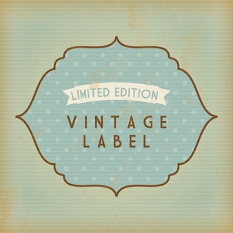 Shopping design over vintage  background vector illustration
