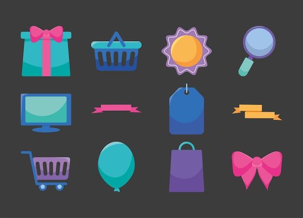 Набор иконок для покупок