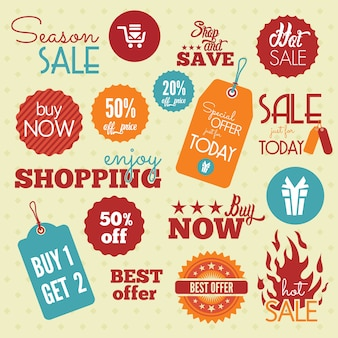 Shopping labels