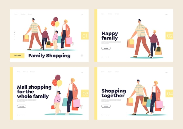 Shopping mall and retail store for the whole family