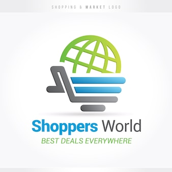 Shopping and markets logo
