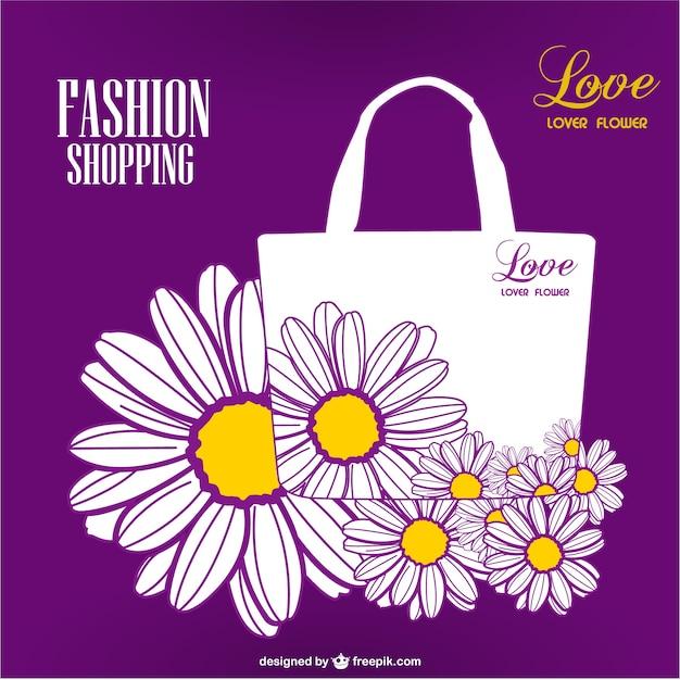 Торговый сезон цветочный дизайн