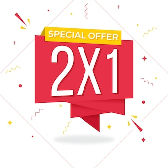 Shopping special offer banner