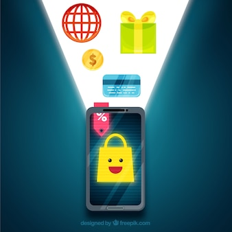 Shopping with the smartphone
