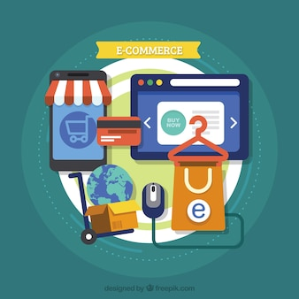 Shopping with technological devices