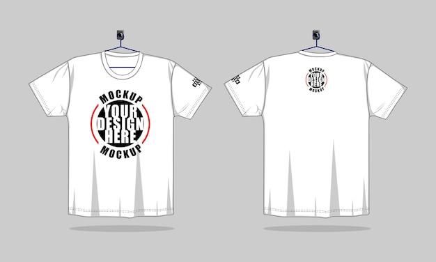 Short sleeve t shirt template