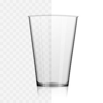 短いウイスキーまたは水ガラスのイラスト