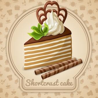 Shortcut cake