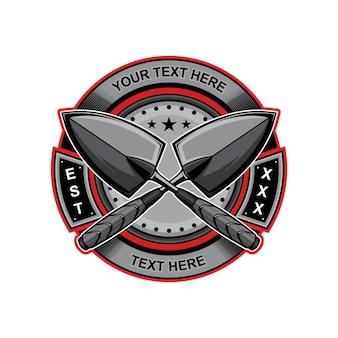 Лопата логотип