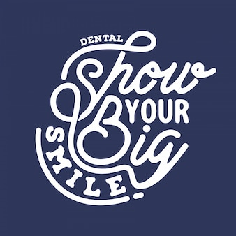 Show your big smile vector