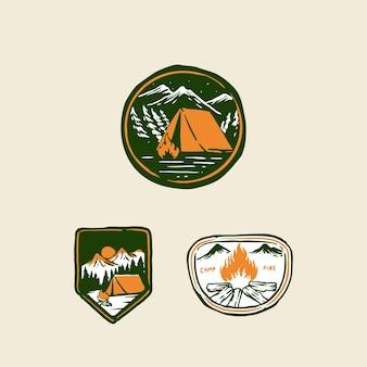Шаблон логотипа мультфильма талисмана шеф-повара креветок