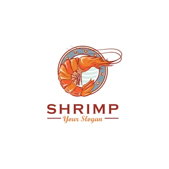 Shrimp logo design