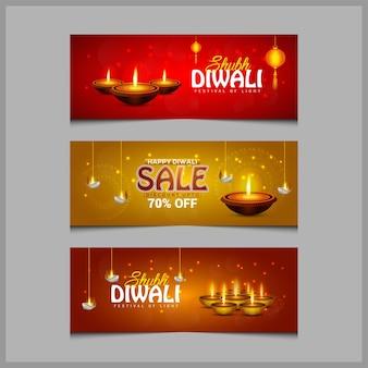 Shubh diwali banner