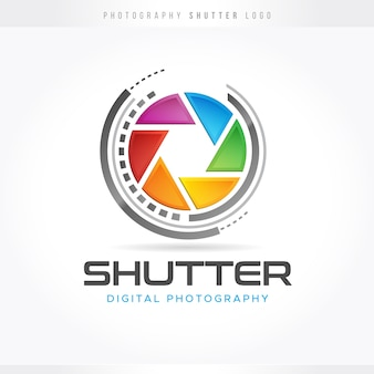 Shutter photography logo