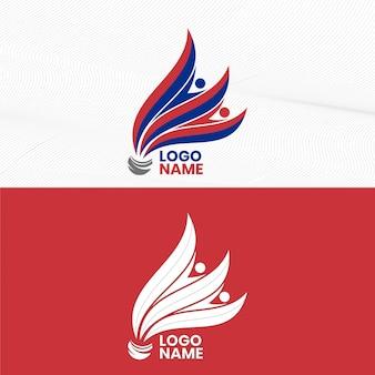 シャトルコックバドミントン選手権ロゴ
