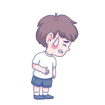 病気の少年