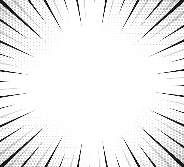 ハーフトーン効果のあるサイドハッチ。ヴィンテージポップアートレトロなベクトルイラスト。