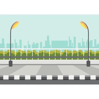 Вектор тротуара