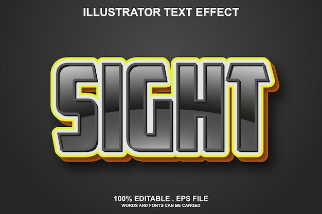 Текстовый эффект прицела редактируемый