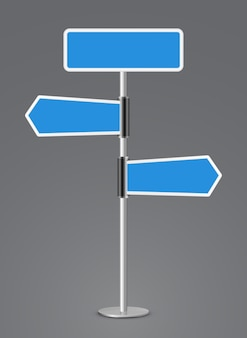 Значок направления знака