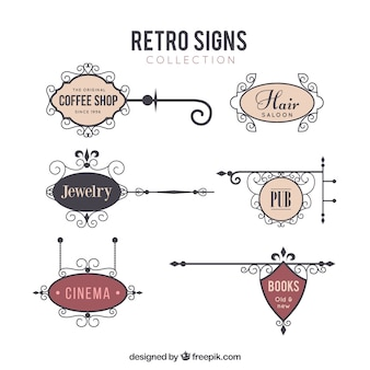 Signs for the outside