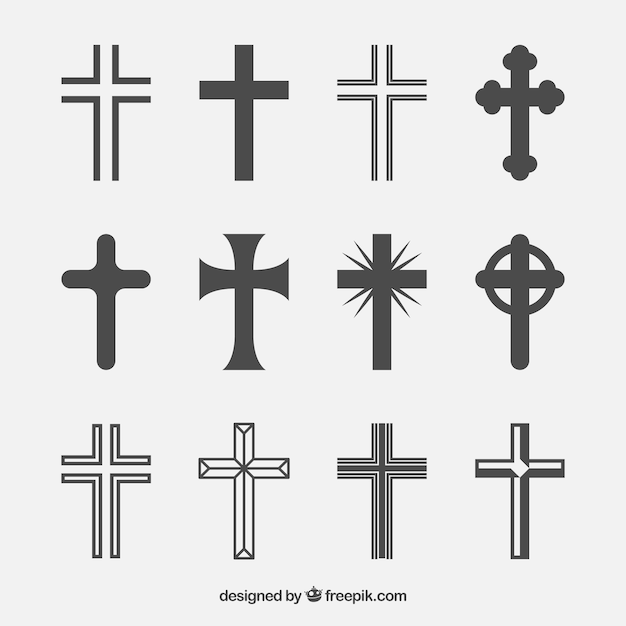 photograph relating to Religious Cross Template Printable identified as Cross Vectors, Visuals and PSD information Cost-free Down load